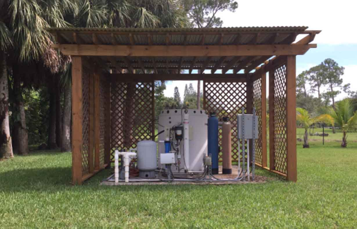 Florida residential well water treatment system from Custom Water Systems Naples, Florida | Custom Water Systems Collier County Well Water Treatment and Well Water Filtration Company Naples, Florida